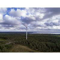 Nytt vindkraftverk mer än fördubblar Ytterbyggs produktion av grön el