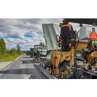 Peab Asfalt vinner stort förstärkning- och beläggningskontrakt i Västerbotten