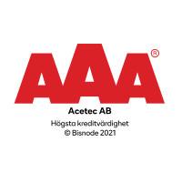 Acetec tilldelas AAA i kreditvärdighet