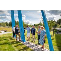 Lars-Erik Falks Modul Skulptur invigdes i Sveriges mest hållbara stad