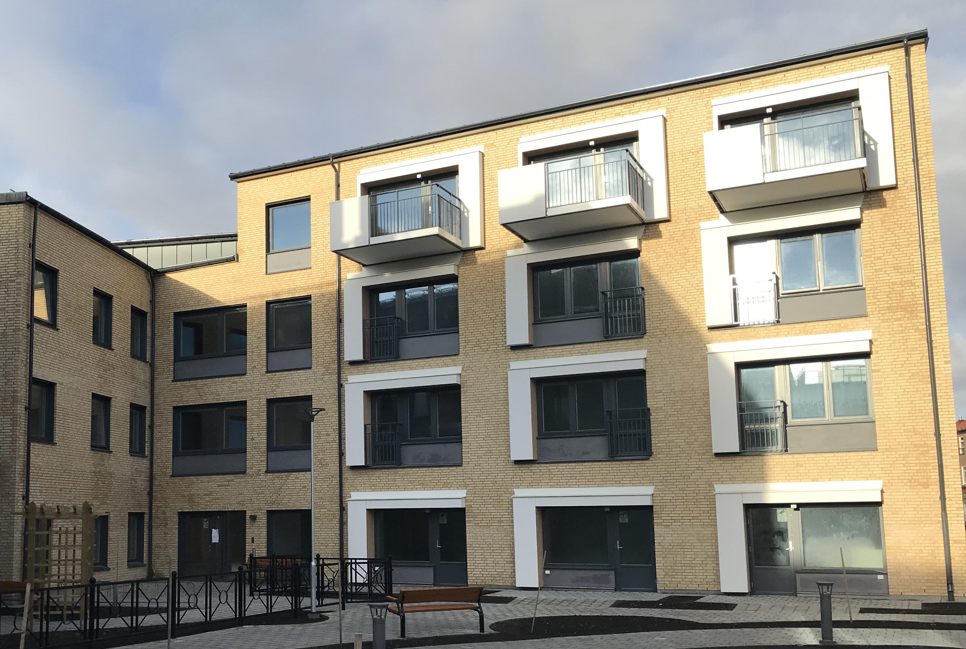 Längs Brunnsgatan i centrala Lund har vi byggt kvarteret Arkivarien.