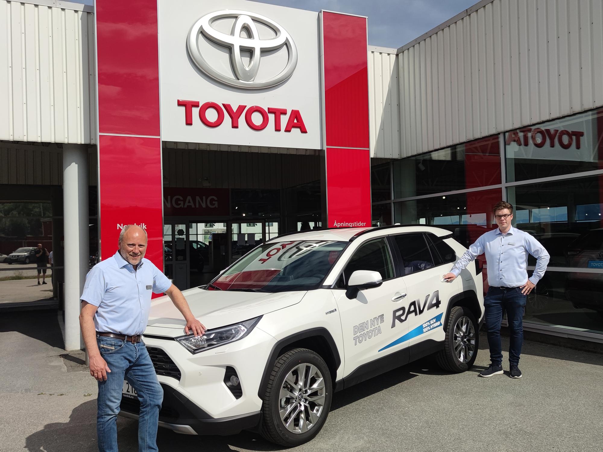 Toyota er Harstads mest populære bilmerke i første halvår