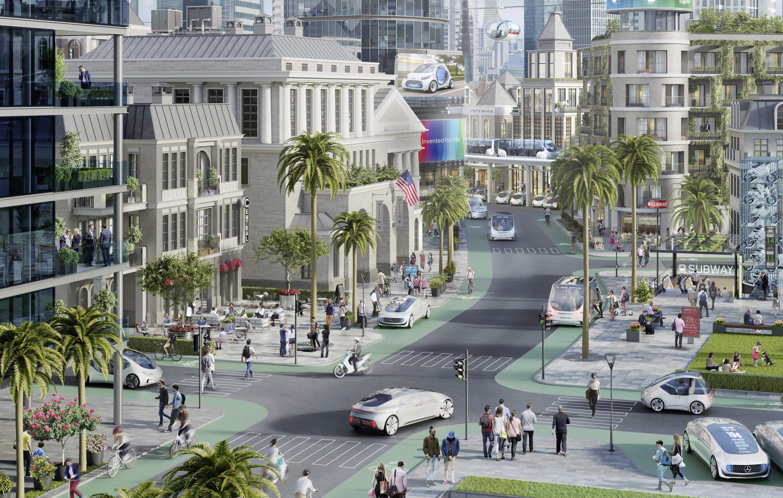 Mercedes testar helt självkörande bilar i Silicon Valley