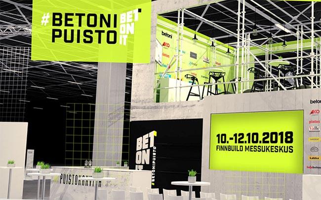 Betonipuisto on Betoniteollisuus ry:n jäsenten yhteisponnistus.