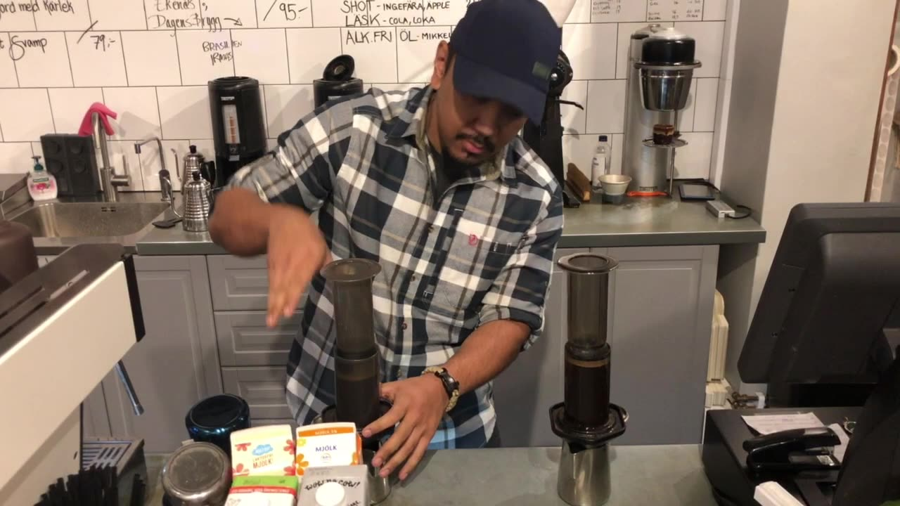 QTF Personalpresentation: Calle – The Coffee Connaisseur