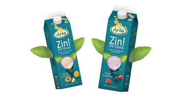 Arla first to launch Stevia yoghurt drink