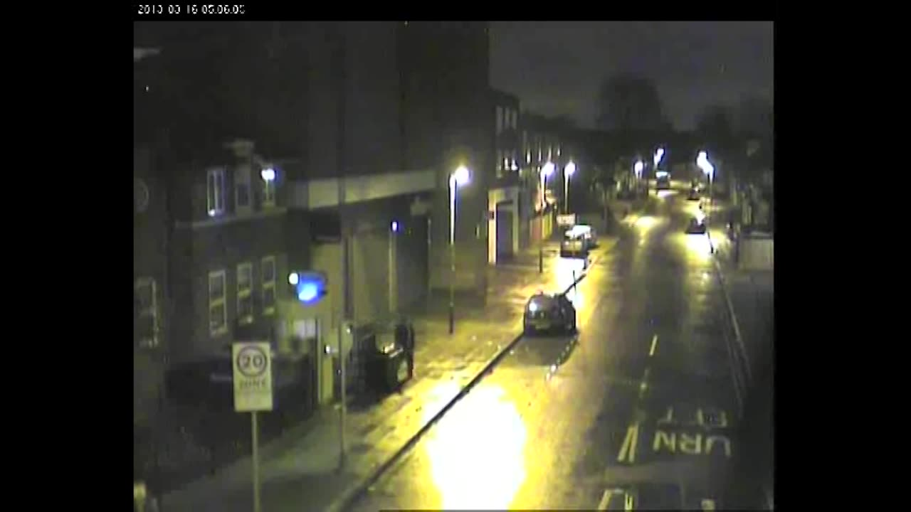 CCTV footage of a man police wish to trace