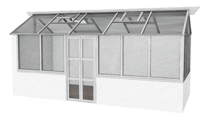 Växthus med AR 1