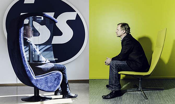 Antti Kutila, ISS Suomi ja Ilkka Äyräväinen, Cygate Oy (oik.). Kuvat: Petri Juntunen