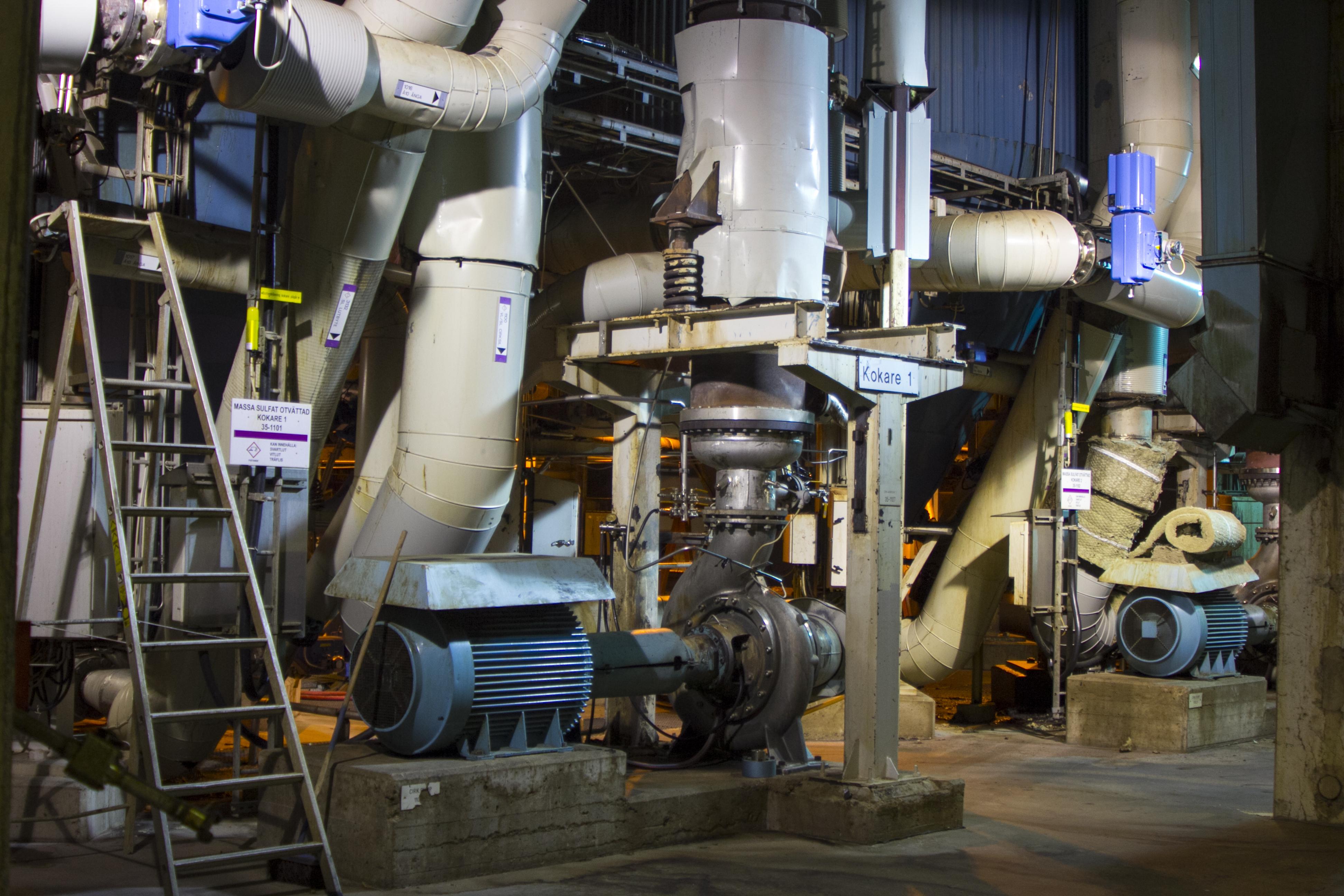 Illustrasjonsfoto: Cellulose fabrikk