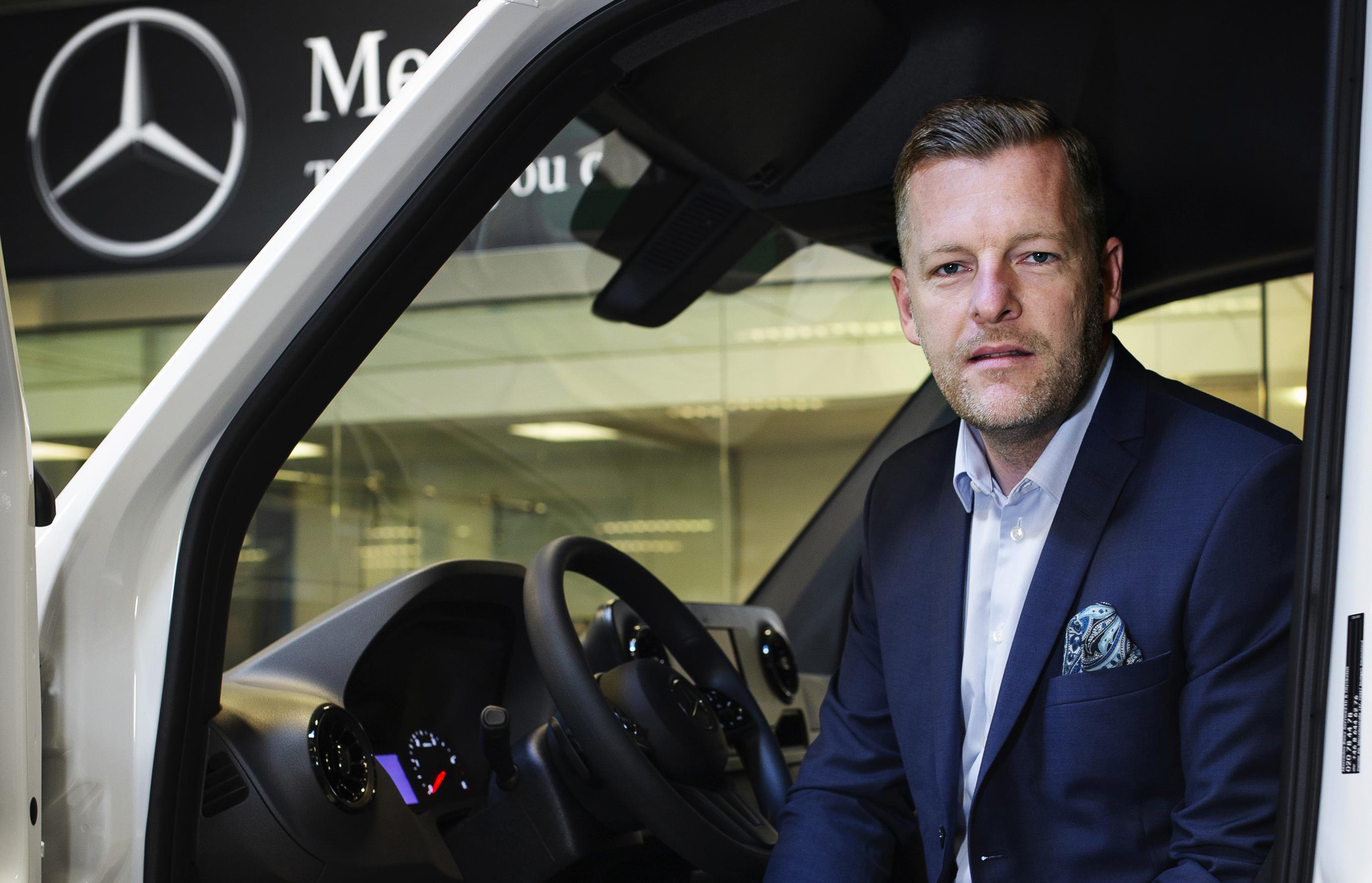 Bengt Larsson ny försäljningschef för Mercedes Transportbilar