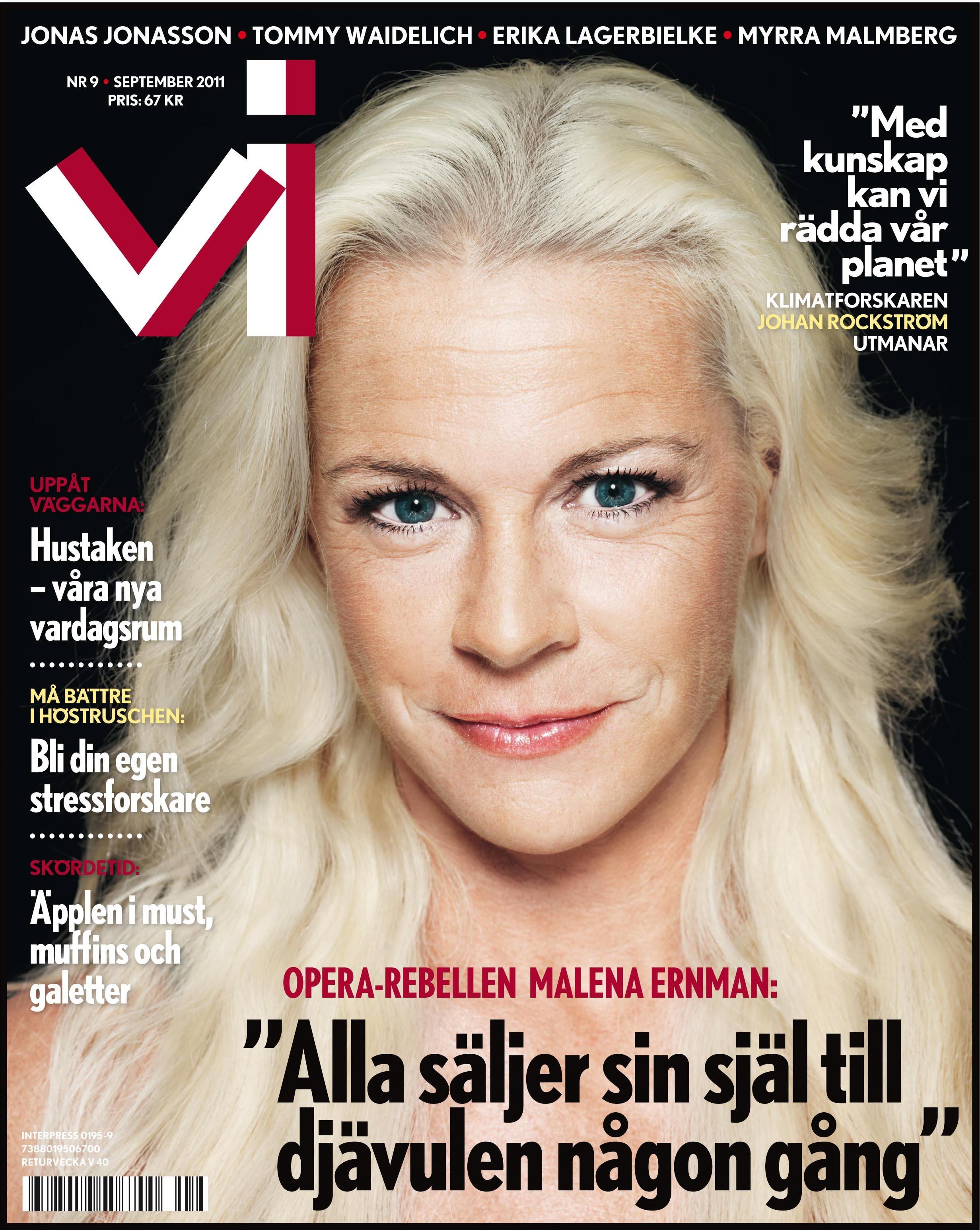 """Malena Ernman: """"Alla säljer sin själ till djävulen någon gång ..."""