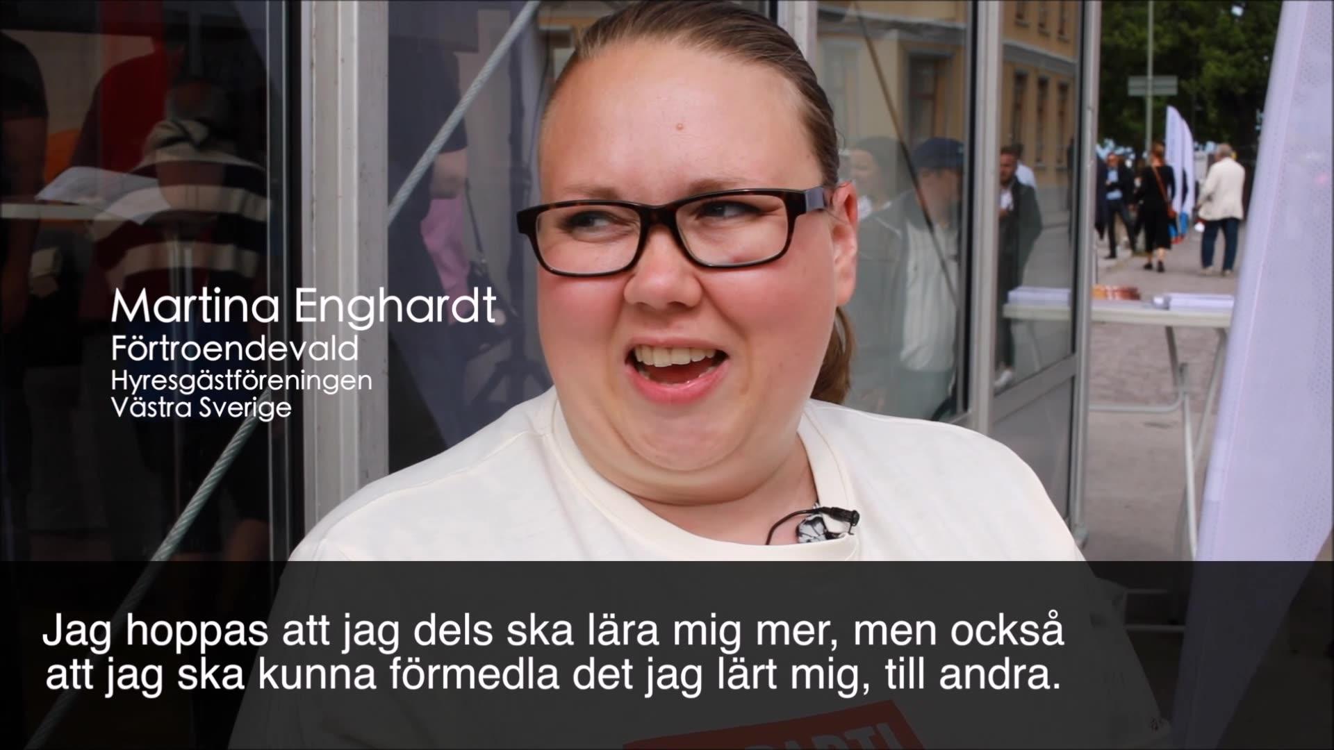 Hyresgästföreningen i Almedalen 2018