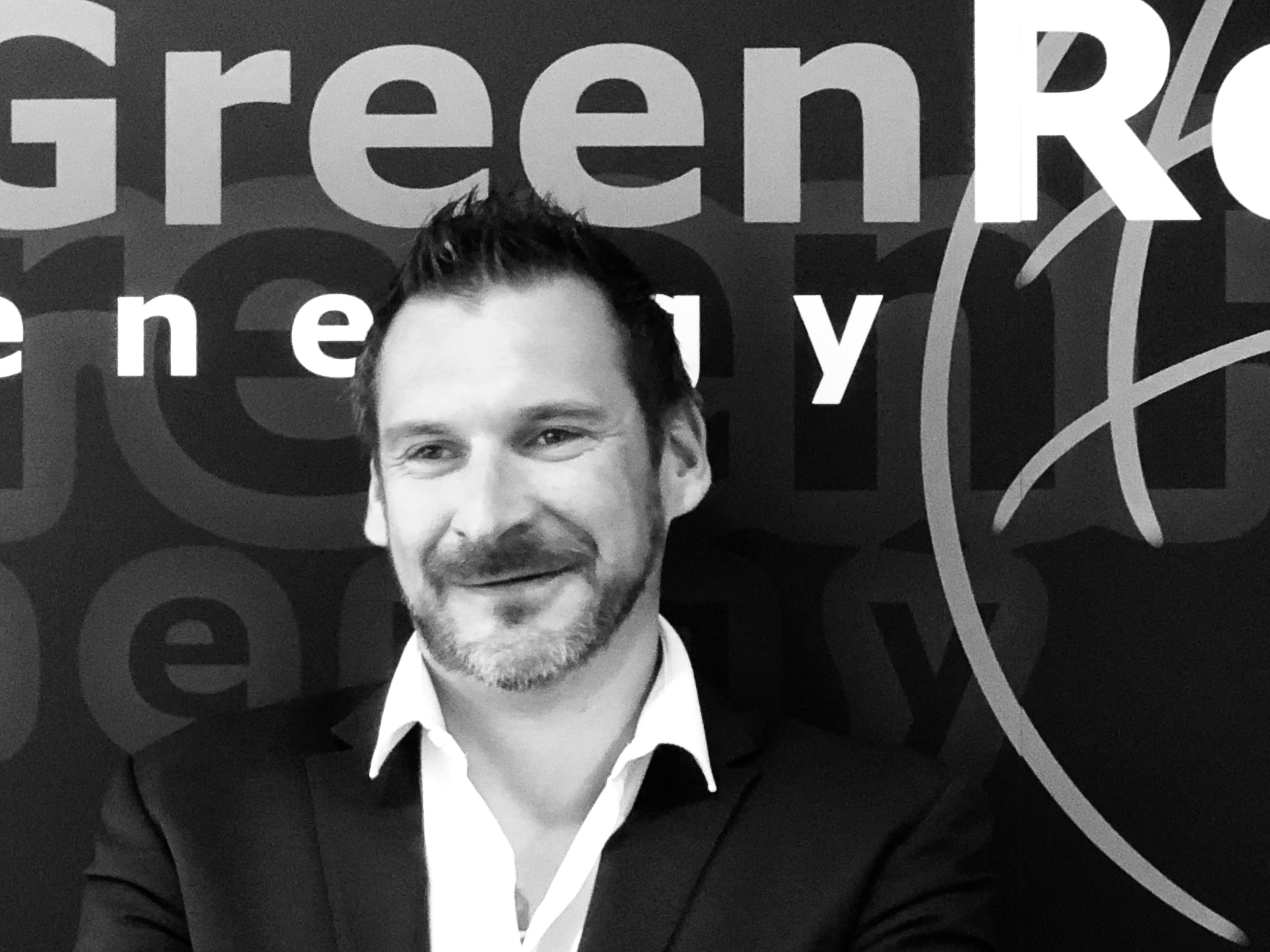 Martin Kofler, Vorstand der GreenRock Energy AG (Foto: F. Hilgenfeld)