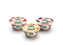 Fruchtjoghurt-Premiere: NUR Bio Joghurt und Bio Früchte. Sonst nichts.