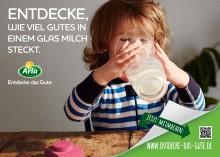 """""""Entdecke das Gute"""": Arla® startet erstmalig Dachmarkenkampagne in Deutschland / weltweiter Relaunch der Marke Arla"""