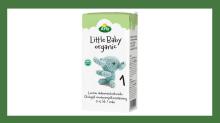 Takaisinveto: Arla Little Baby 1 organic UHT, 500 ml äidinmaidonkorvike