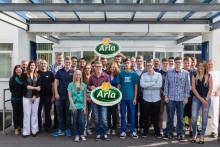 17 neue Auszubildende starten am Arla Standort Pronsfeld ins Berufsleben