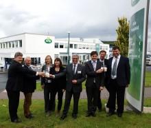 Vertreter der Landesregierung Rheinland-Pfalz besuchen Niederlassung Pronsfeld