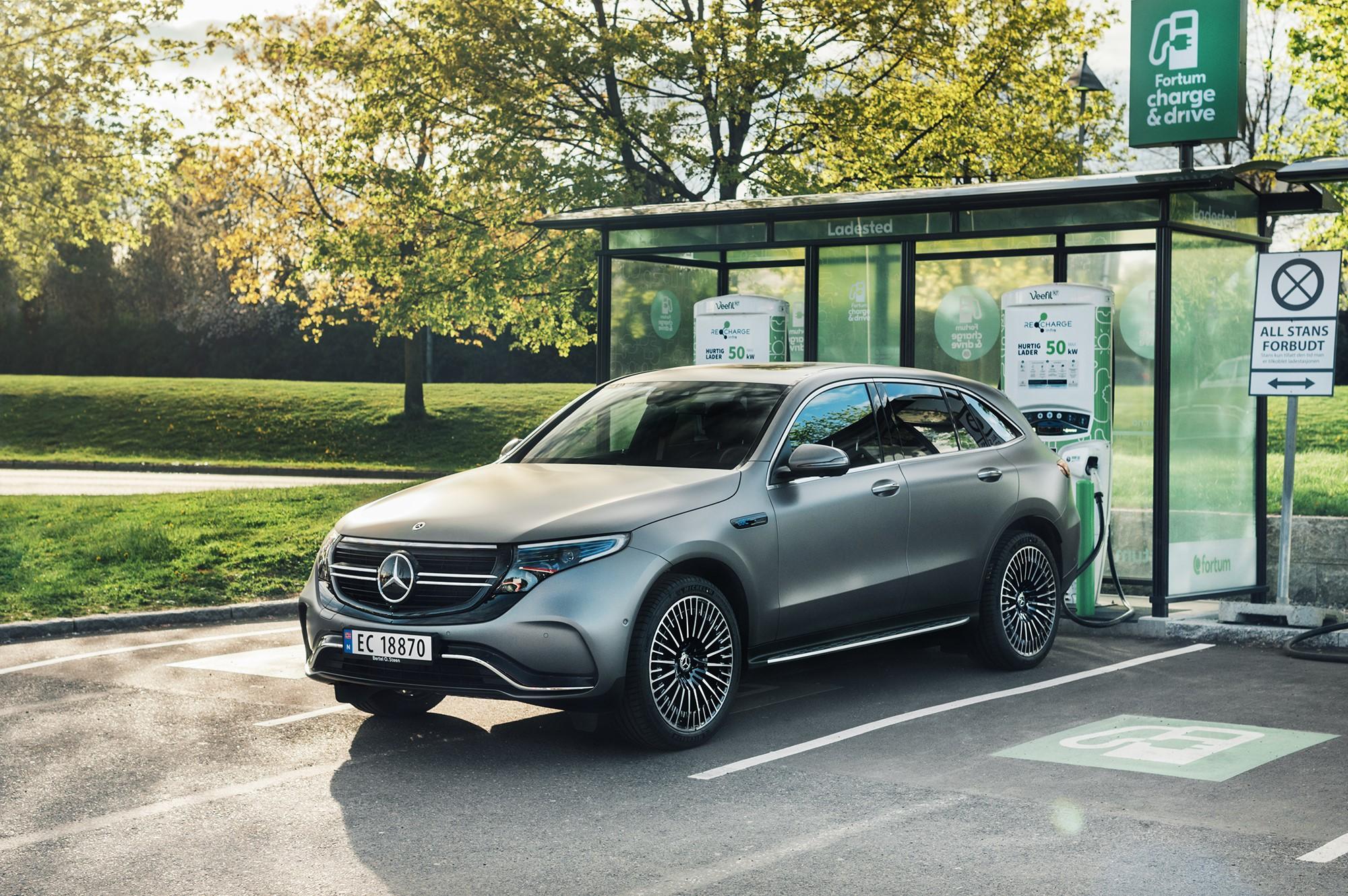 Mercedes-ägare får tillgång till Nordens största laddnätverk