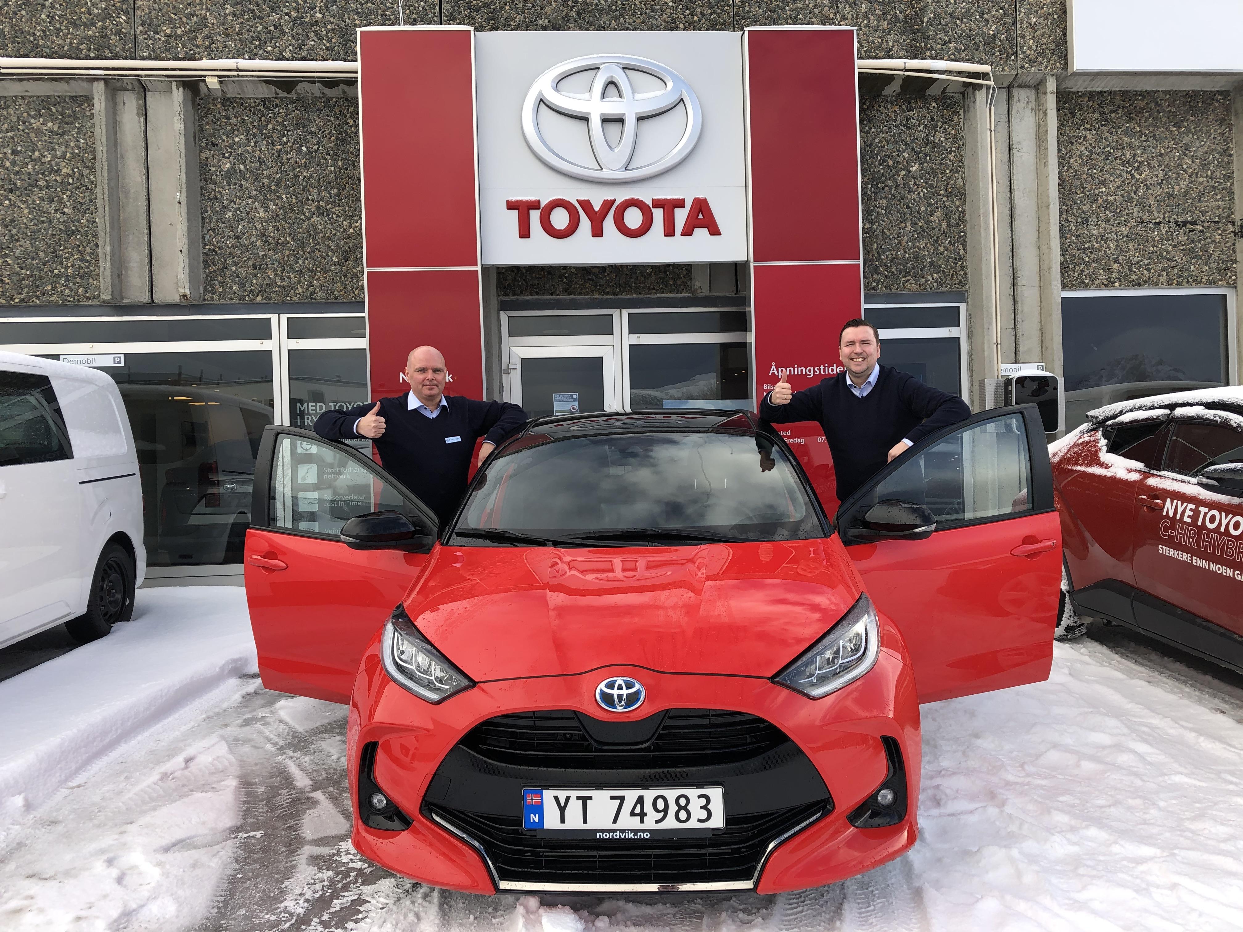 Leknes - Toyota Yaris er Årets Bil 2021