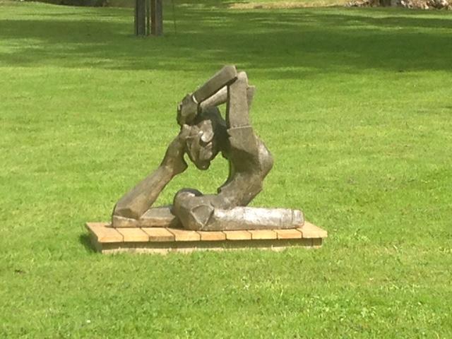 Skulptur Reparationsbetong
