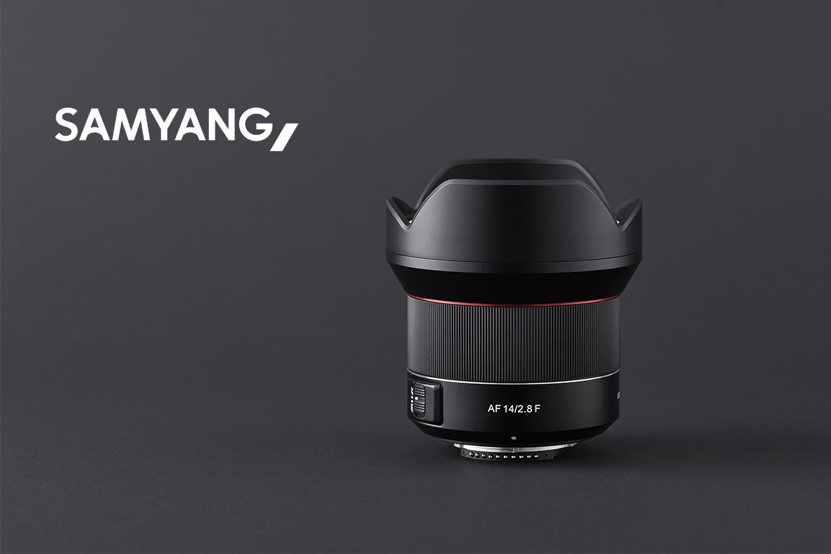 Samyangin täyden kennon 14mm AF -objektiivi Nikon-kiinnitykselle