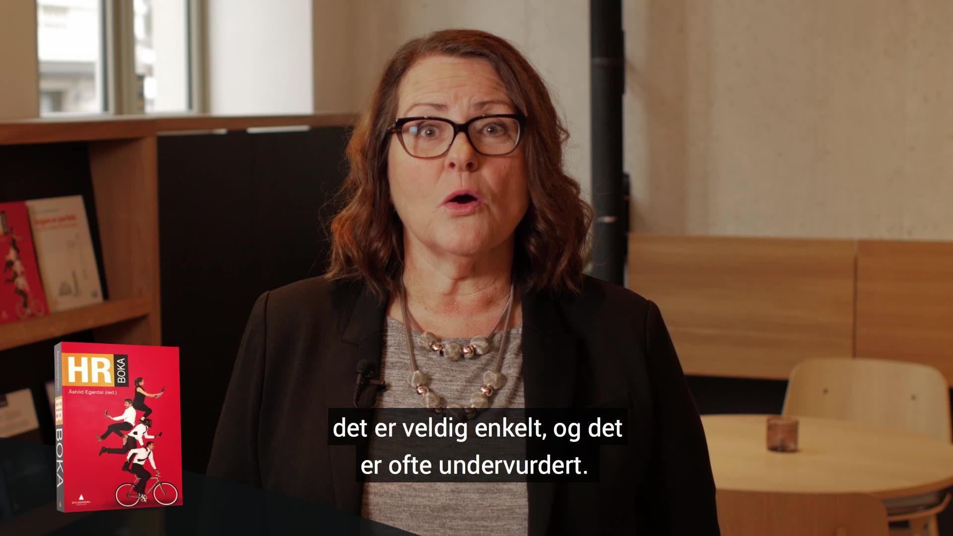 HR boka, Åshild Egerdal