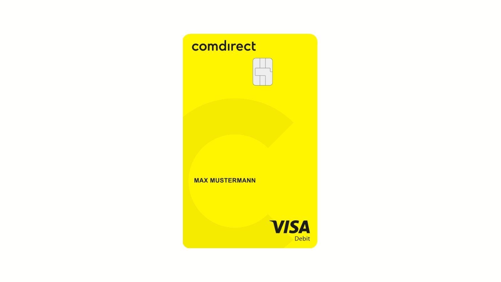 comdirect startet mit der Ausgabe von Visa Debitkarten undefined