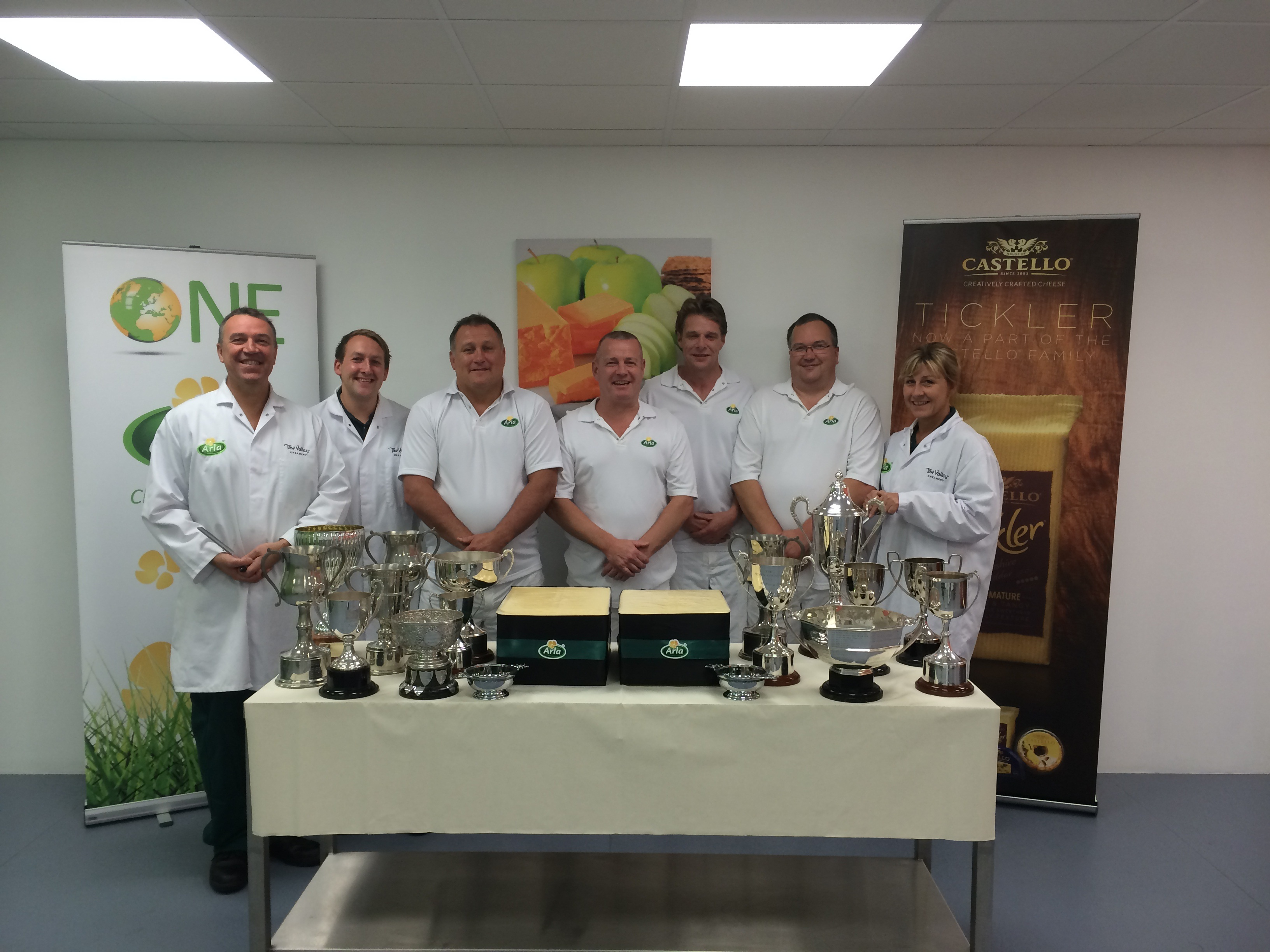 Arla Foods sweeps the board at the Global Cheese Show picking up 52 awards