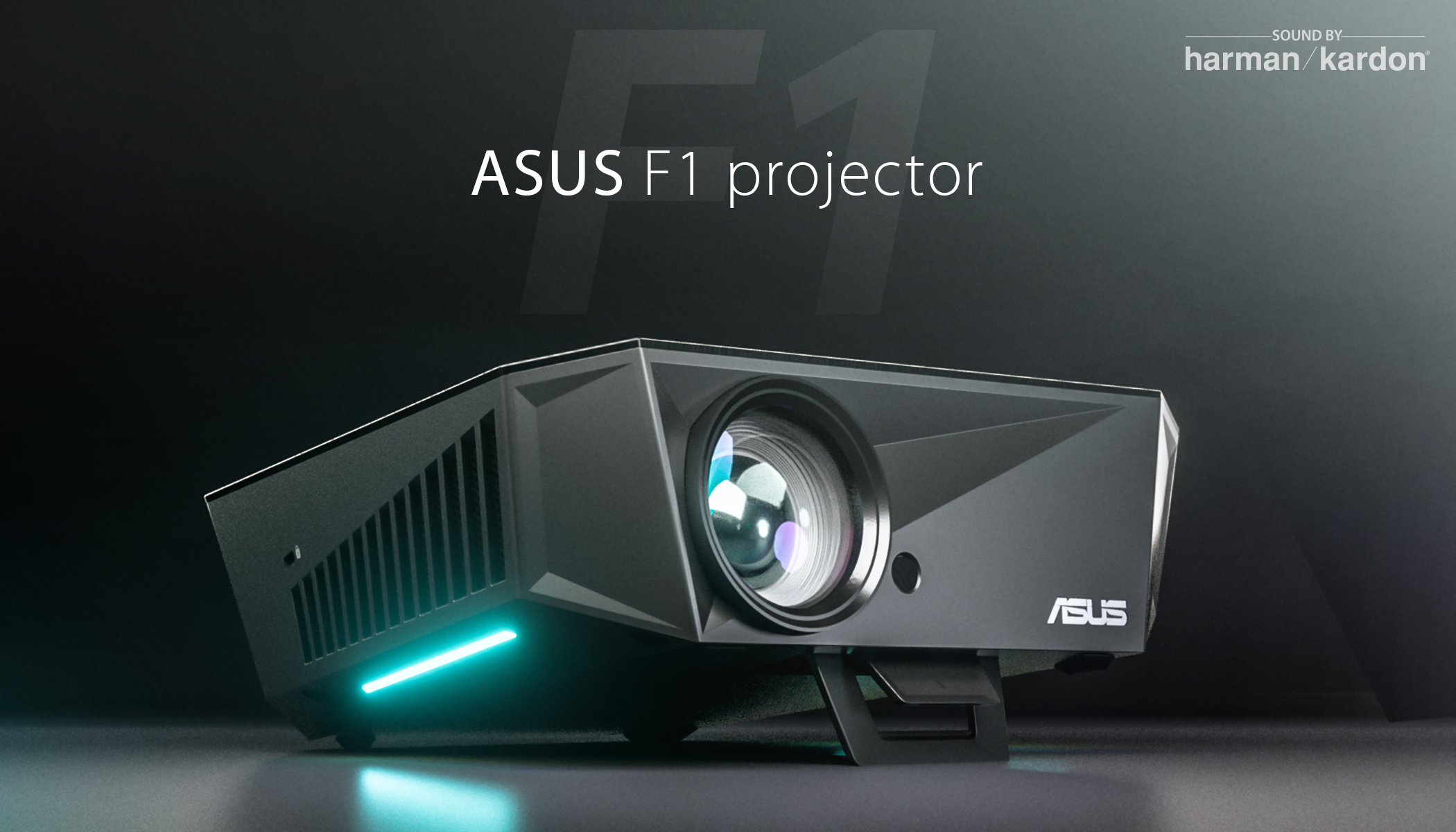 ASUS Announces F1 Projector - 120Hz capable with audio from