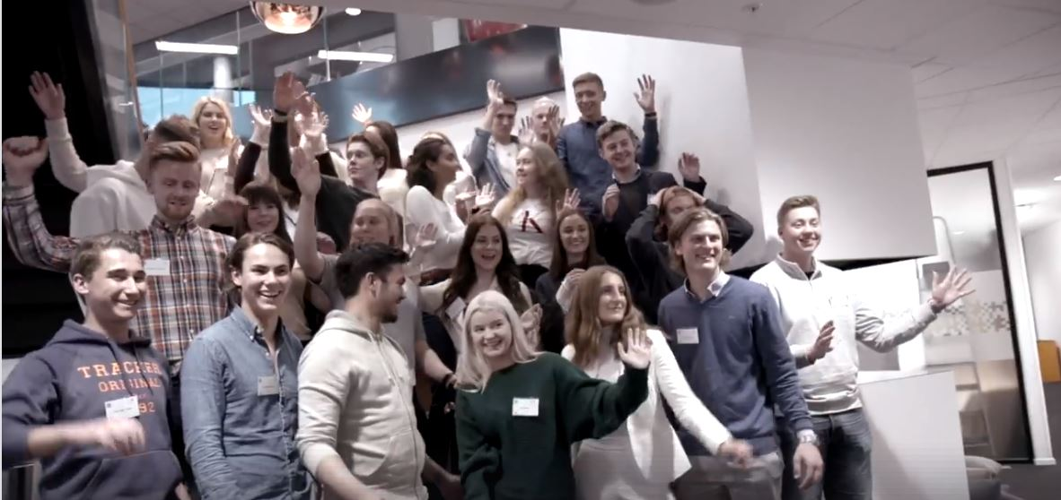 ManpowerGroup arrangerer Leder for en dag sammen med Ungt Entreprenørskap