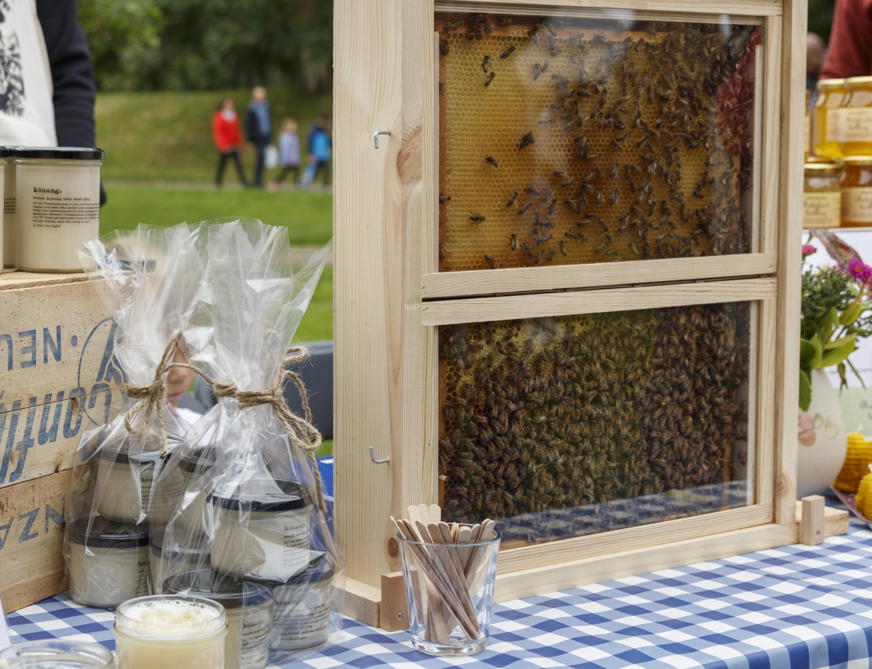 Honung och biodling från skördefesten 2017