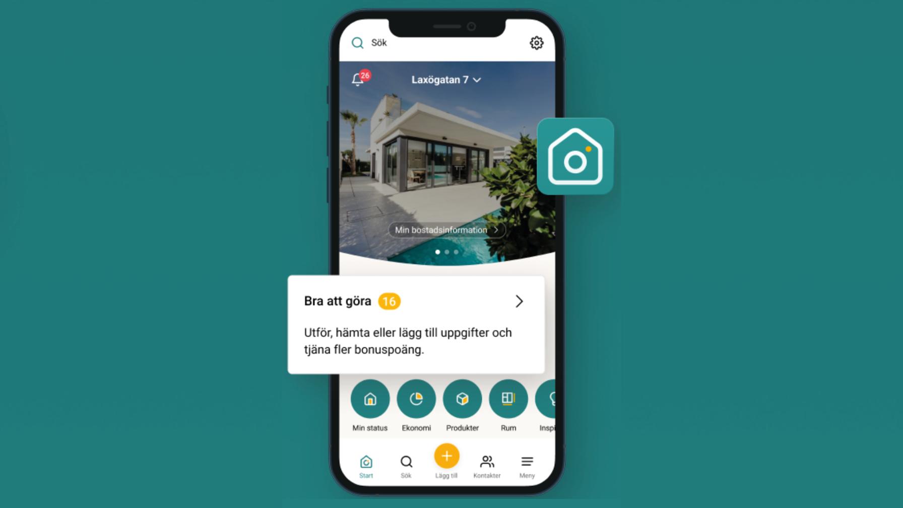 House:ID har stängt sin pre-seed runda på 7,5 Mkr bl.a. via Connects ängel nätverk i Stockholm och lanserat den första versionen av House:ID appen
