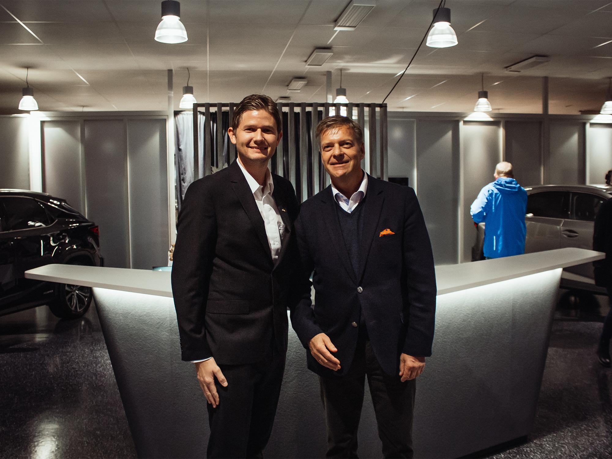 Vellykket åpning av Lexus Bodø