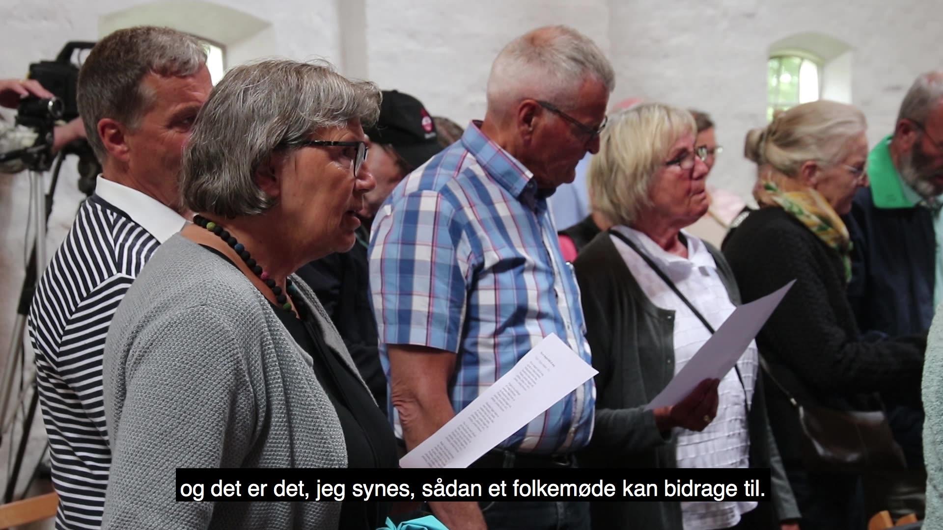 Videoer fra samtaler på Jenle under Skivemødet den 18.maj 2018
